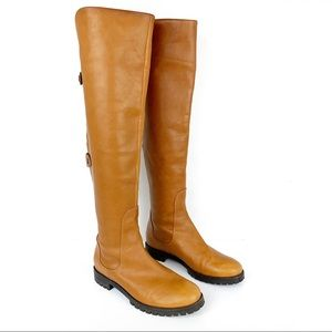 COLE HAAN WATERPROOF OVER THE KNEE BOOTS SIZE 6.5